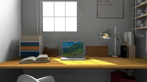 Office - Modern - Office  - by camilla_saurus