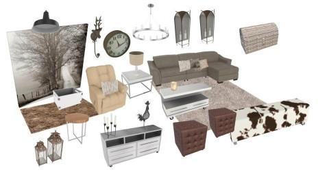 Mod farmhouse living - by Tina Yvette