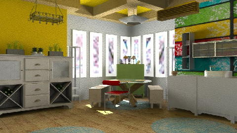 Tiffany in the corner - Eclectic - Kitchen  - by mrschicken