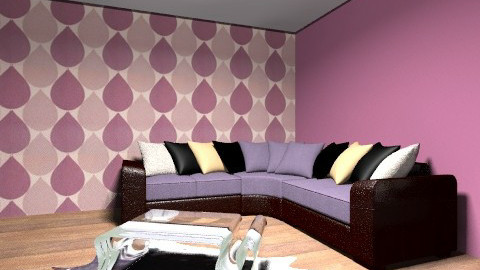 purple heaven - Glamour - Living room  - by GEORGIA288