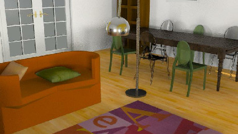 Room Mario - Dining Room  - by thitima