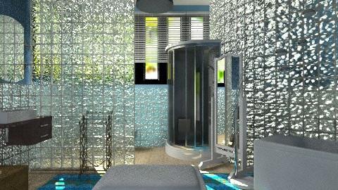 bathroom in italy - Modern - Bathroom  - by ju1974