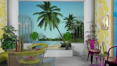paradisiaca - Modern - Garden  - by ATELOIV87