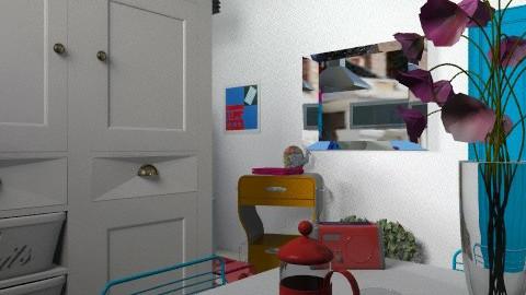 small kitchen 2 - Eclectic - Kitchen  - by mrschicken