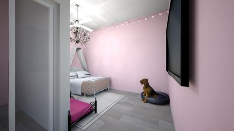 m - Modern - Bedroom  - by rat kenneddyyy