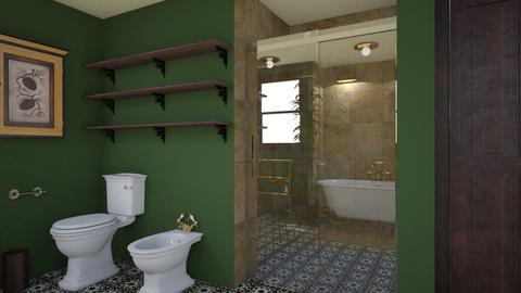 Classic cosy bathroom 5 - Classic - Bathroom - by macus