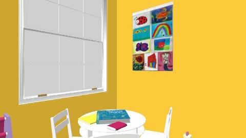 dreamhomelevel2 - Retro - Bedroom - by kikivienna