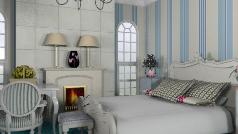 Bedroom  2 - Classic - Bedroom  - by Azmi_Ar