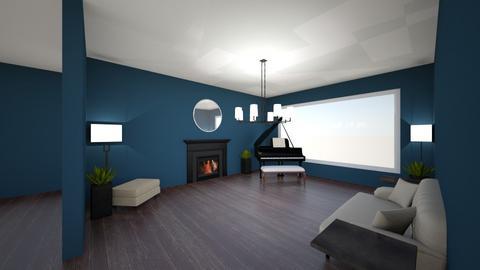 Venetian living - Vintage - Living room  - by kgeunincehdayrd