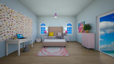 Candy bedroom - Bedroom  - by MearStyle