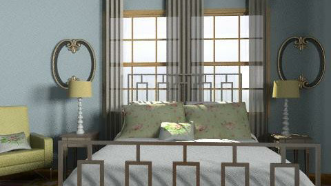 Morden Country Haven 1 - Country - Bedroom  - by decordiva1