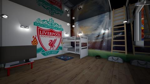 I love Liverpool - Bedroom  - by Marzbar3
