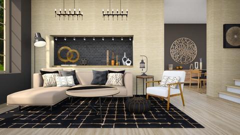 minimalist living room - by Tatjana113