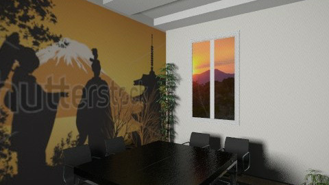 Asia room office22 - Classic - Office  - by Irena_S