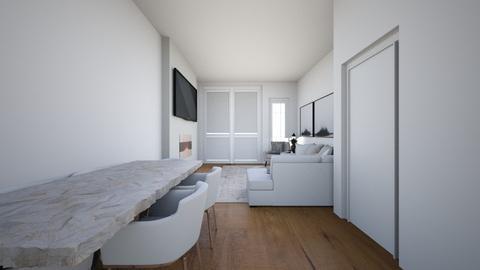 Dining Room wood floor - Living room  - by mbennett111