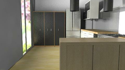 room(EB) BY VERANOS 01 pro. 01 - Classic - Kitchen  - by domuseinterior