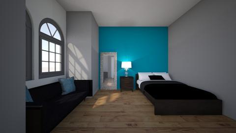 Interior Design_Rylee S - Modern - Bedroom  - by ryleesimmons