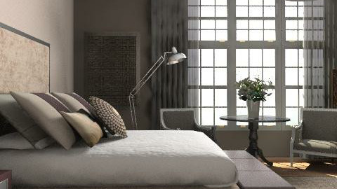 Taupe Bedroom - Classic - Bedroom  - by laurawoodley