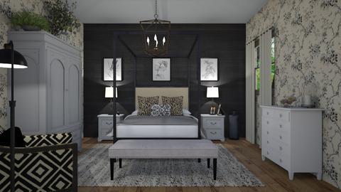 blackandwhite2 - Bedroom  - by steker2344