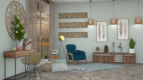 M_Sunlight - Eclectic - Living room - by milyca8
