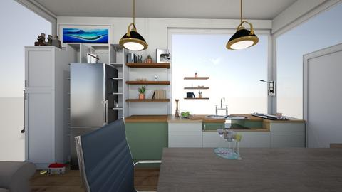 Breakfast Bar - Kitchen  - by Jetroomstyler