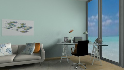 Beach home office - Modern - Office - by froggy62