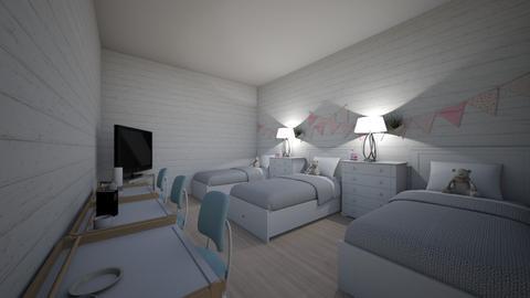 trplets room 9 11 - Kids room  - by its_adri