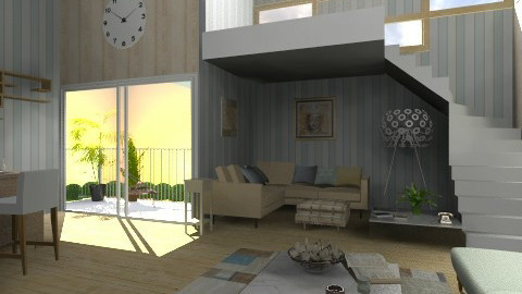 Livingroom - Eclectic - Living room  - by idna