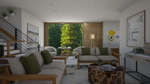 calm  - Modern - Living room  - by moomusr