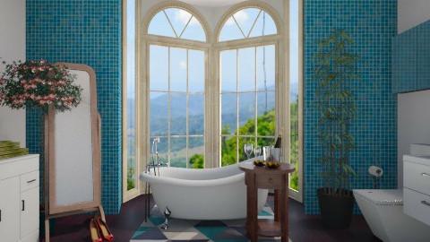 Tropical Bathroom - Bathroom - by Sarah Canham
