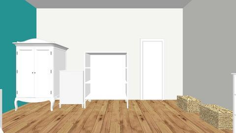 my room design - Bedroom - by Amzy_5716
