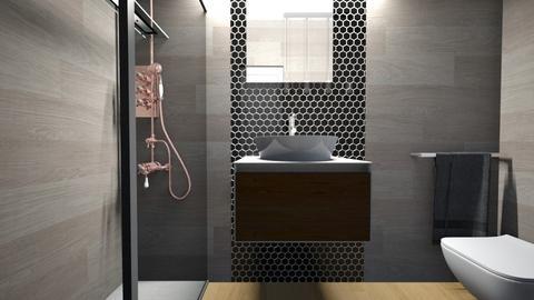 Cologno bagno ospiti27 - Bathroom - by natanibelung