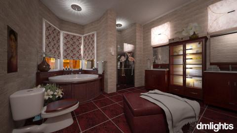 cherry - Classic - Bathroom  - by LucretiaC
