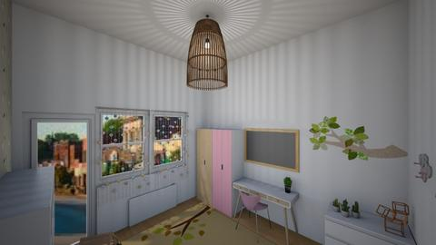 Eco kids bedroom - Retro - Bedroom  - by 06966147