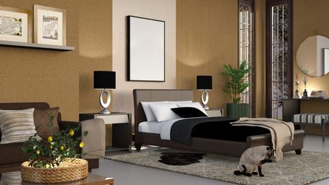 M_ Thomas - Bedroom  - by milyca8