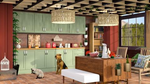 Modern farmhouse kitchen - by Nari31