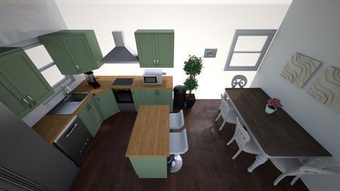 Eat in kitchen  - Kitchen  - by 328160stylist