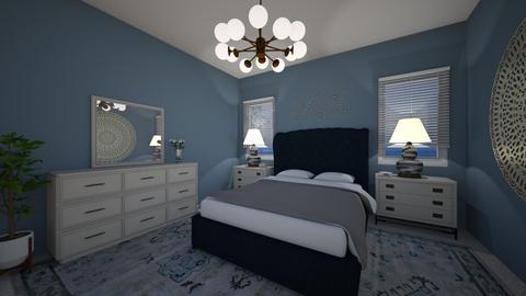 Bedroom Blues - Classic - Bedroom - by nicquo40