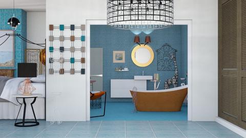 En suite  - Eclectic - Bathroom - by augustmoon