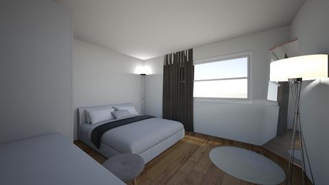 Bed on West wall Door - by ajvarsak