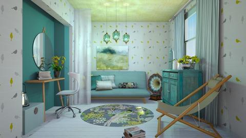 Birds - Bedroom - by chania