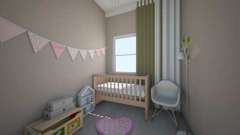 Girls room  - Kids room - by Kamila Walker