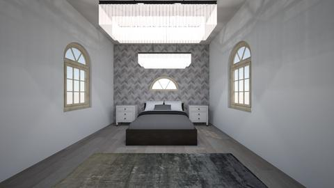 master bedroom - Modern - Bedroom - by pop of color