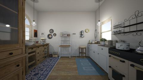 Rustic Kitchen - Rustic - Kitchen  - by PeculiarLeah
