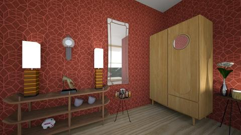 November_Autumn Pattern_R - Modern - Bedroom  - by XelleWishes