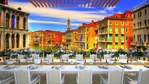 Wedding in Venice - Classic - Garden  - by thefairysknight