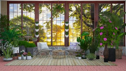 Sun Room 3 - by Feeny