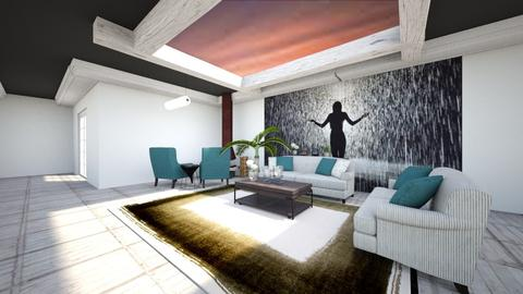 k - Modern - Living room - by waad3333