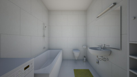 Bathroom - Minimal - Bathroom - by gaborsomjai