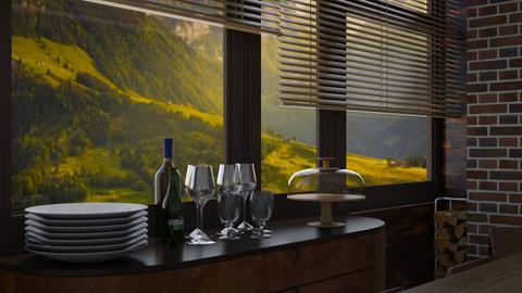 Dining room bar - by heynowgregory